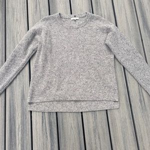 Madewell Wool Charcoal Gray Sweater